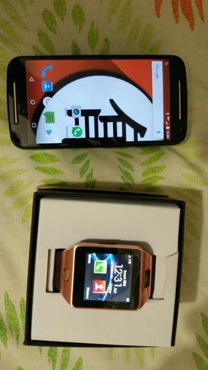 Motorola Moto G2 Y Smart Watch