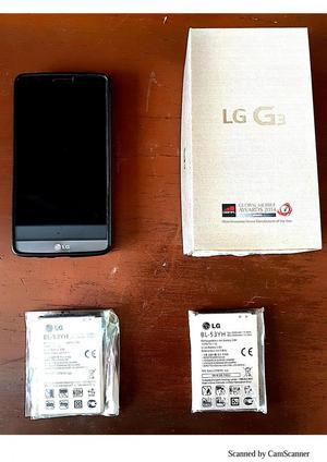 Vendo Celular LG G3 para repuestos y 2 Baterias