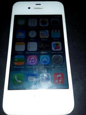 Vendo Celular iPhone 4 en Buen Estado