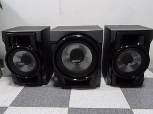 Bables De Equipo De Sonido Sony 6 Ohm Genezy Gtr55 3 Piezas