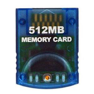Hde Gamecube Tarjeta De Memoria De 512 Mb ( Bloques) Par