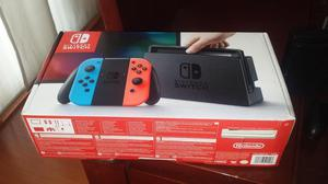 Nintendo Switch con Zelda Breath of The Wild