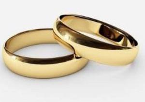 Par Argollas De Matrimonio Compromiso Oro 18k Garantizado
