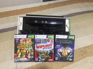 Se vende Kinect en PERFECTO estado acompañado de 3