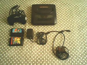 Sega genesis box 2 y 2 juegos