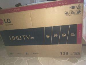 Televisor Lg 55 4k Smart (webos) Ultra Hd En Caja