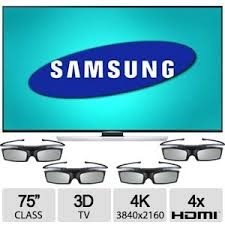 Tv Led Samsung 75 4k 3d Smart Tv Hdmi Lentes En Stock Ya!!!