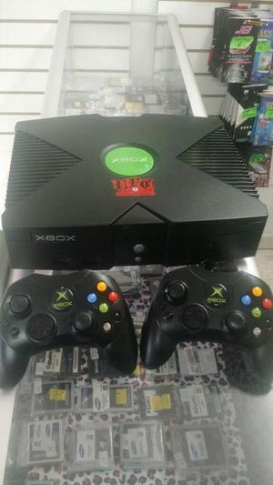 Xbox Clasico 2 Controles Y Garantía