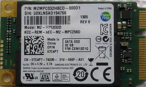 ASC Disco SSD de MSATA 32 Gb Samsung MZ MPC032D