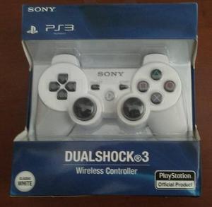 Control Ps3 Blanco Playstation 3 Bluetooth
