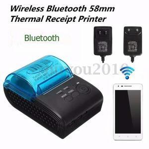 Impresora De Recibos Portátil Mini 58mm Bluetooth