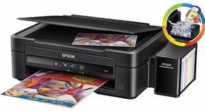 Impresora Epson L380 Sist Original Recargable A Color