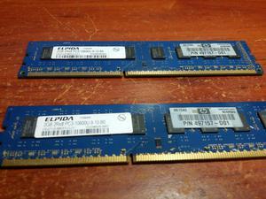 Memorias Ram Ddr3 de 2gb