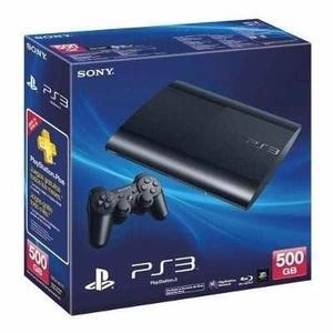 Playstation 3 Super Slim 3d + 500gb + Control +41 Juegos