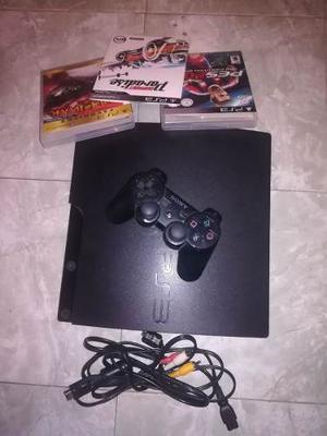 Playstation  Gb Con 3 Juegos Y Un Control.