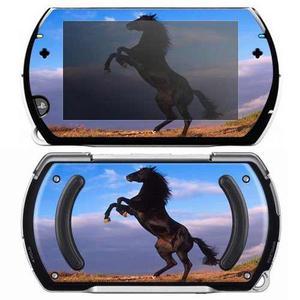 Sony Psp Go Piel Etiqueta Engomada - Caballo Mustang