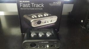 Interfaz de Audio Maudio Fast Track