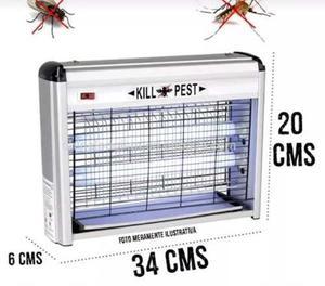 Luz ultravioleta mata zancudos mosquitos moscas posot class - Lampara mata mosquitos ...