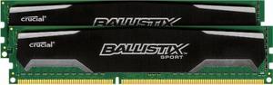 Memoria Ram Ddr3 16gb  Mhz Crucial Ballistix Sport