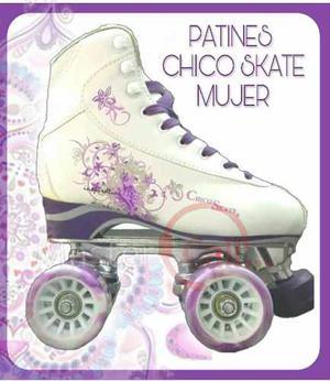 Patines Chico Skate 4 Ruedas Artisticos Hombre Mujer Oferta