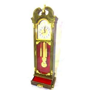 Reloj De Mesa Decorativo Tipo Antiguo Pendulo Con Joyero