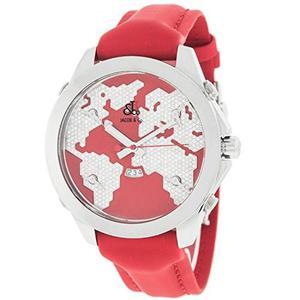 Reloj De Mujer Jacob Amp; Co. Five Time Zones Rojo Jc47sr