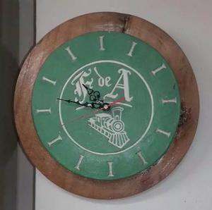 Reloj ferrocarril de antioquia posot class - Reloj pared original ...