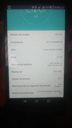 Vendo Cambio P8 Lite Nuevo Falla Wifi