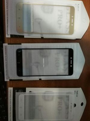Vidrio Templado 2.5d xiaomi Redmi 4x y Redmi Note 4 Global