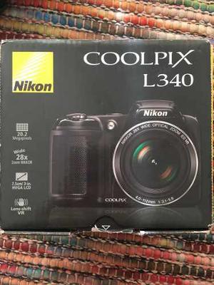 Cámara Semi Profesional Nikon Coolpix L340
