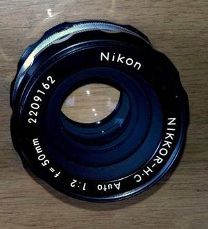 Lente Full Frame Nikon 50mm F2.0