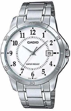 Reloj Análogo Hombre Casio Mtp-v004d-7b - Pulso Metálico