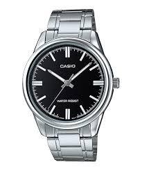 Reloj Casio Mtp V005d-7 Acero Plateado Plateado Original