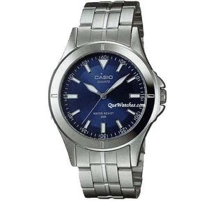 Reloj Casio Mtp-a Acero Inoxidable Plateado Original