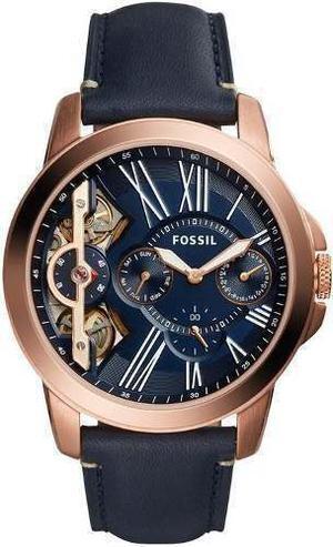 Reloj Fossil Me Cuero Azul Hombre