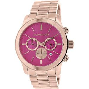 Reloj Michael Kors Mk Mujer, Acero Inoxidable Oro Rosa,