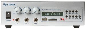 Amplificador De 40 Watts, Con Lector De Tarjetas Steren