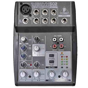 Consola Mezclador Audio Behringer Xenyx502
