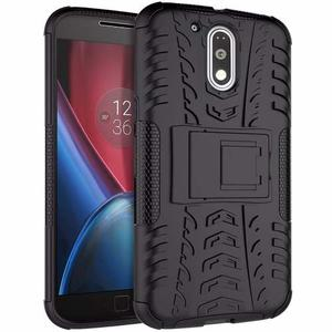 Forro Armadura Protector Stand Motorola Moto G4 Plus Xt