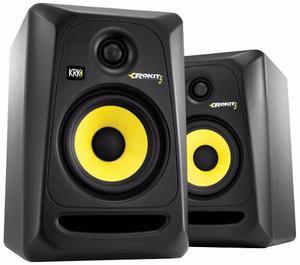 Par De Krk Rokit 5 G3 Monitores De Estudio 50w Bi-amp