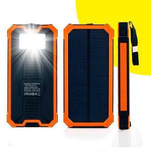 Power Bank Cargador Batería Externa Panel Solar mah