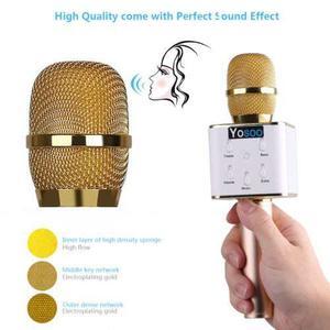 Q7 Bluetooth Inalámbrico Micrófono Usb Karaoke Ktv