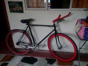 Bicicleta tipo fixie