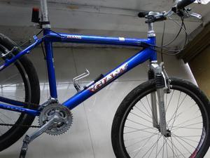 Bicicleta todo terreno marco en aluminio barata