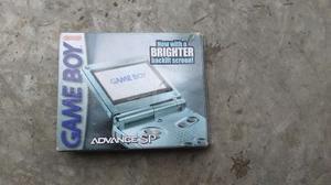 Game Boy Advance Sp 101 Retroiluminado Con Caja Y Manuales