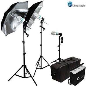 Kit Juego De Luces Para Estudio Fotografía Limostudio 600w