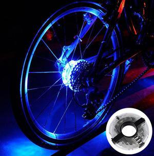 Luz led para rueda de bicicleta, iluminacion para bicicleta