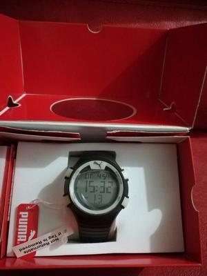 reloj puma con monitor cardiaco lcd envio