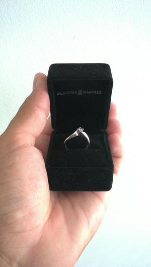 Vendo Anillo de Compromiso Oro Diamante