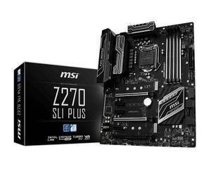 Board Msi Z270 Sli Plus 7ma Gen Crossfirex 4x Ddr4 Usb3.0